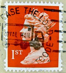 "beautiful stamp UK GB 1st class Briefmarke timbre Machin Great Britain GB England Commonwealth Grossbritannien Queen Elizabeth QEII selo postage UK United Kingdom ""Royal Mail"" 1st Windsor (stampolina) Tags: uk greatbritain red portrait england orange rot postes amber poste 1st stamps retrato portrt stamp porto gb windsor royalmail portret timbre rosso commonwealth postage franco granbretagna qeii  vermilion queenelizabeth vermillion stempel revenue anglia selo marka decimal queenelisabeth  grossbritannien machin   briefmarken  rouges pulu briefmarke  francobollo grandebretagne portr granbretaa timbreposte bollo      grbretanha frimaerke sellodecorreo      frankatur postapulu jyu  yupiouzhu selodecorreio"