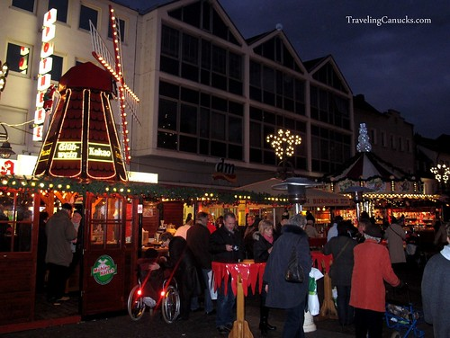 Christmas Market in Wessling, Germany
