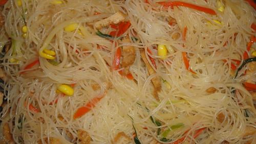 Vegetarian rice noodles素炒米粉