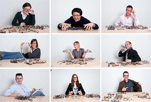 Auf Die Brillen Fertig Los Backstage Beim Presse Fotoshooting