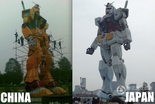 BREAKING NEWS: Japanese Furious At Gundam Rip-Off