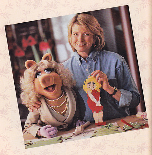 miss piggy - martha stewart