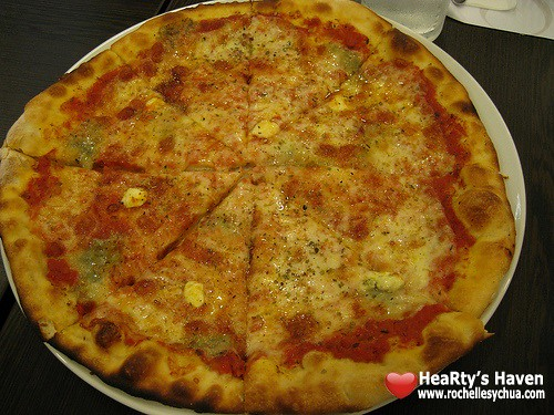 amici four cheese pizza