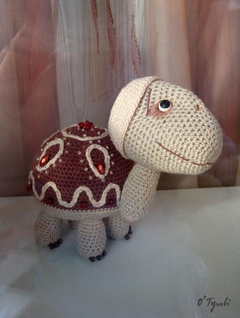 The tortoise Guljan.