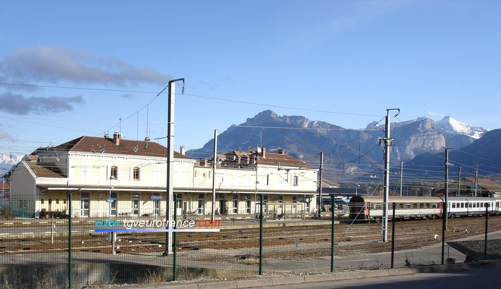 La gare de La Roche-sur-Foron dans le département de Haute-Savoie en Région Rhône-Alpes