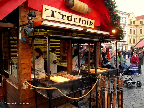 Trdelnik Pastries - Prague, Czech Republic