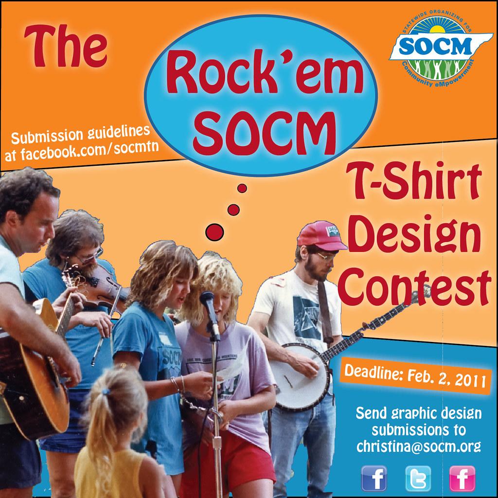 Rock'em SOCM T-Shirt Design Contest