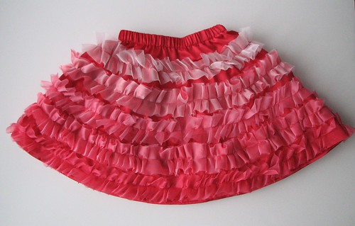 Can-Can Christmas Skirt