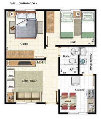 plantas residenciais modelos