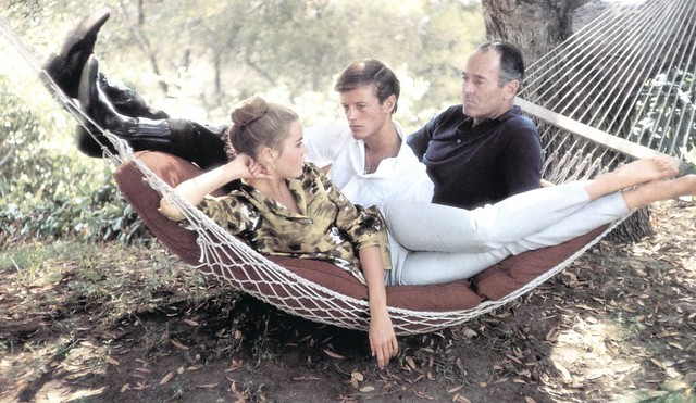 Jane, Peter and Henry Fonda