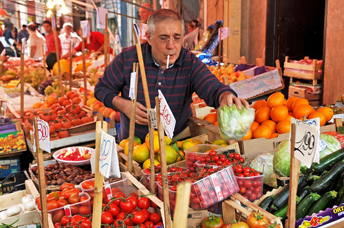 Italy-2153 - Capo Street Market by archer10 (Dennis), on Flickr