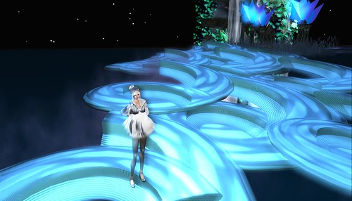 raftwet jewell at sky waterfall on riverland