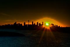 North Head Silhouette (Sn!per) Tags: sunset silhouette nikon head north sydney d90
