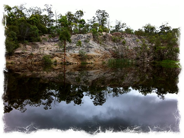Old Quarry Reflection 1