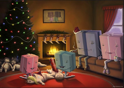 [圖] 重口味聖誕節卡片