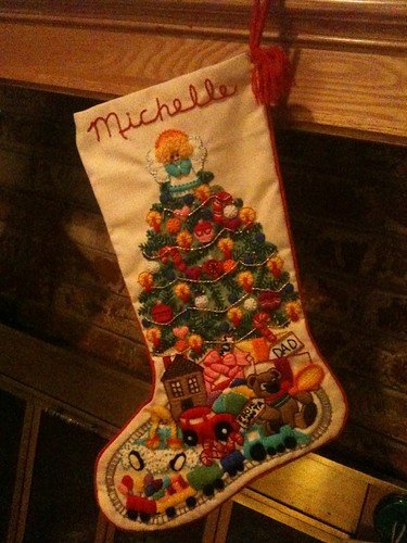Christmas stocking my mammaw made for me