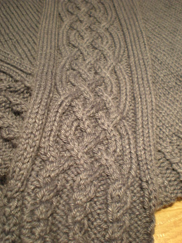 Dad's Jumper - close up