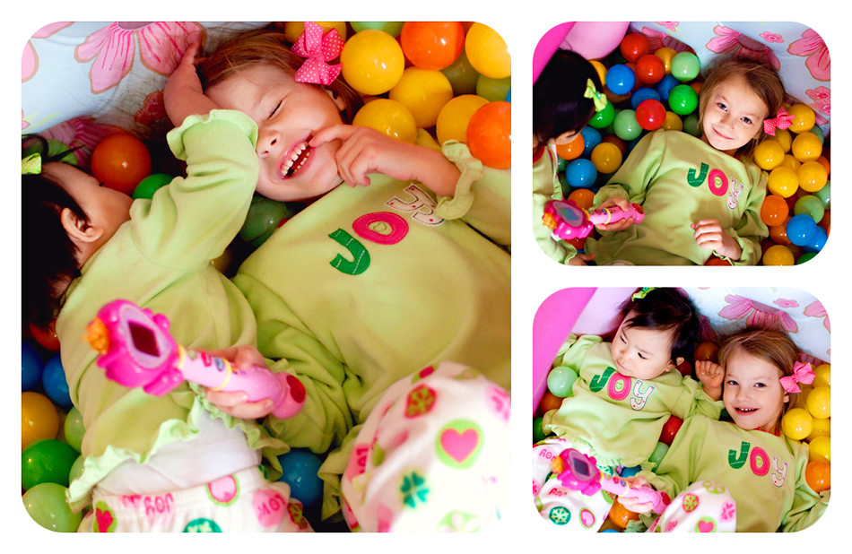 Ball Pit Collage