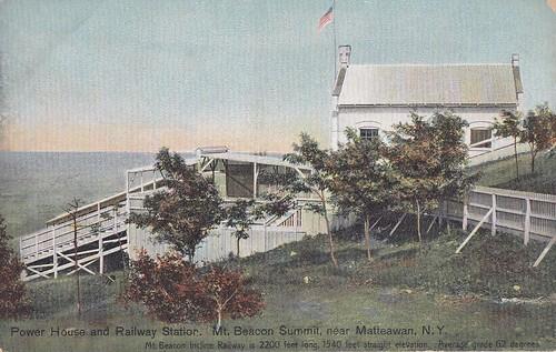 Power House & Railway Station Mt Beacon NY