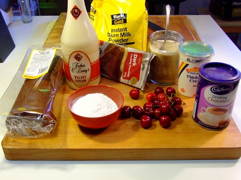 trifle ingredients