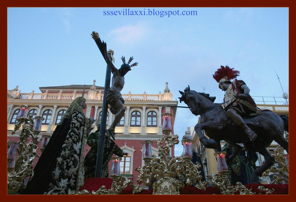 Santísimo Cristo de la Sagrada Lanzada y Nuestra Señora de Guía. Miércoles Santo 2007
