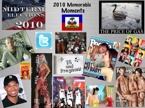 Memorable Moments Of 2010