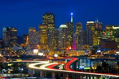 Downtown Cityscape San Francisco (davidyuweb) Tags: san francisco downtown cityscape pyramid dusk transamerica sfbay sfist