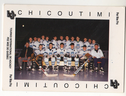 PDKC Chicoutimi Team front