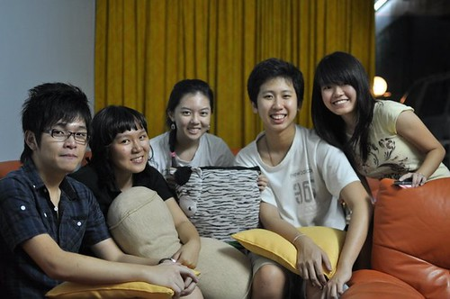 Raymond,Meu Ye,Chee Li Kee,Kheng Hoe,Shi Ning