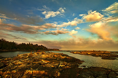 K7__3874 (Bob West) Tags: ontario clouds sunrise greatlakes brucepeninsula tobermory k7 southwestontario bobwest pentax1224