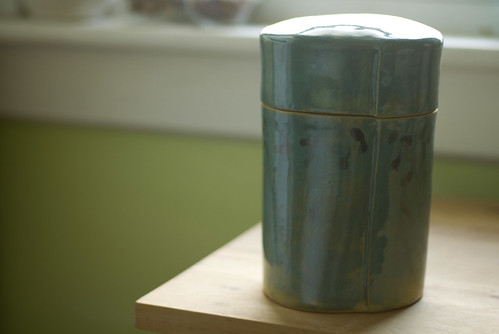ceramic flour canister