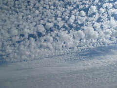 puffy clouds (birchloki) Tags: light ohio sky cloud nature clouds edon edonohio
