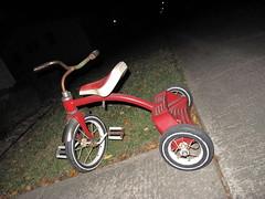 abandoned (birchloki) Tags: ohio rural toy toys tricycle trike smalltown tricycles edon edonohio