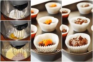 Muffins di Zucca e Cioccolato