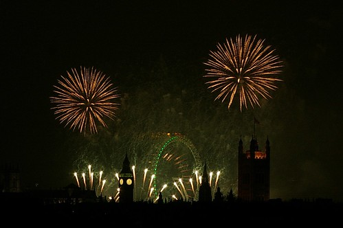 London New Year Fireworks 2011