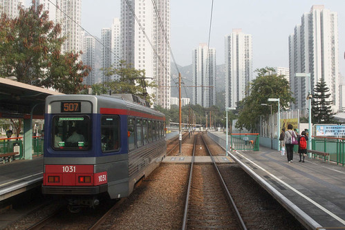 LRV among a field of apartment blocks