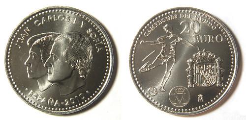 20 Euros de España del 2010