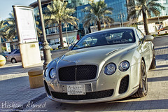 Bentley Continental Supersports [Explore #1] (Hesham Ahmed's) Tags: camera b speed canon lens eos aperture exposure efs1855mm continental iso saudi 100 mm sec length 27 f71 bentley 1125 ksa focal supersports 550d