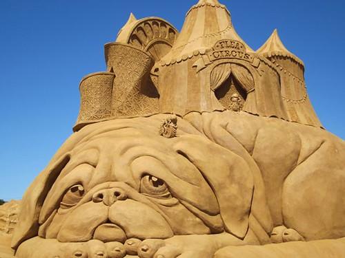 Sand Sculpting at Frankston