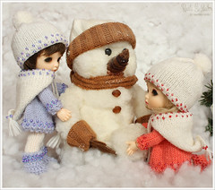 (Maram Banu) Tags: snow zoe doll bonnie bjd fairyland fairystyle pukifee marambanu