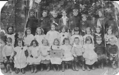 1910: Wroughton Infant School (Postcard) (Local Studies, Swindon Central Library) Tags: school children postcard swindon class teacher 1910 1910s wiltshire hooper wroughton wroughtonschool