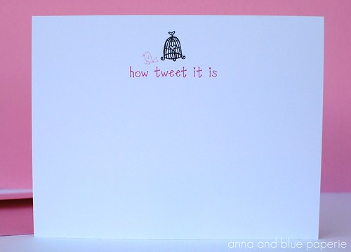 anna and blue paperie valentine how tweet logo