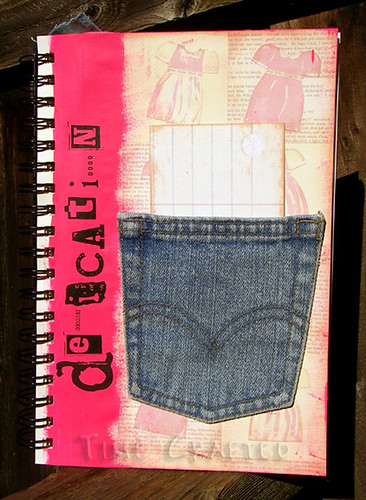 Inspiration Everywhere - Art Journal - Dedication Page