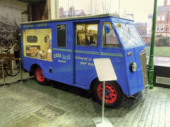 1951 Morris Commercial Streetlife Museum Kingston upon Hull Yorkshire (woodytyke) Tags: street uk blue england west english history lamp wheel museum photography photo hardware post britain yorkshire united kingdom streetlife kingston riding commercial british morris van hull cobbles esso trade isles upon 1951 paraffin deliveries woodytyke