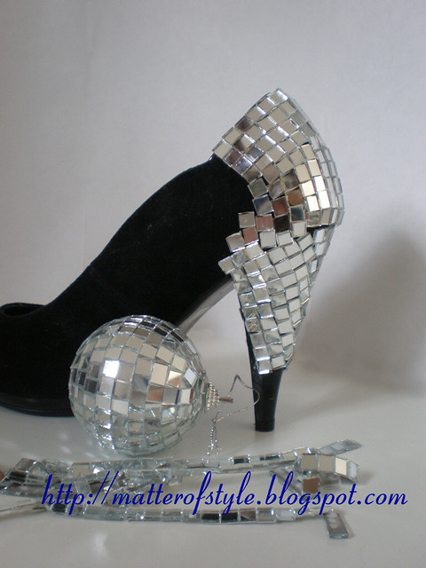 DIY mirror heels by Matter of Style: Eye on Fashion