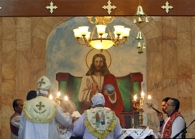 Sudanese Coptic Priests Celebrate Coptic Christmas Mass