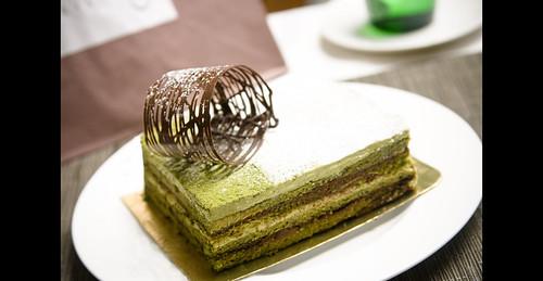 Opéra au thé vert