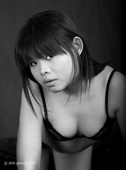 Wing b&w (dirk glassly) Tags: girls portrait people blackandwhite bw cute monochrome beautiful beauty face canon mouth pose model eyes pretty skin gorgeous models chinese babe lips attractive stunning chic 123bw chercherlafemme wingt
