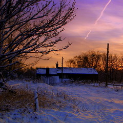 homeward bound (perseverando) Tags: winter sunset england snow home square manchester farm lancashire pictureperfect atherton perseverando visionqualitygroup magicunicornverybest fleursetpaysages