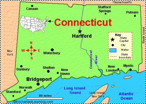 connecticut-map